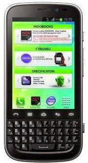 Cyrus Chat HP Android Jelly Bean QWERTY harga dibawah 1.5 juta