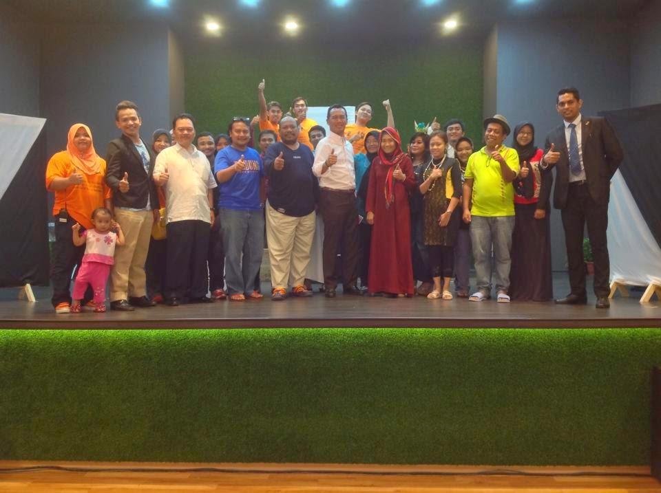 Bersama YB. Dato' Zulkurnain Haji Kamisan