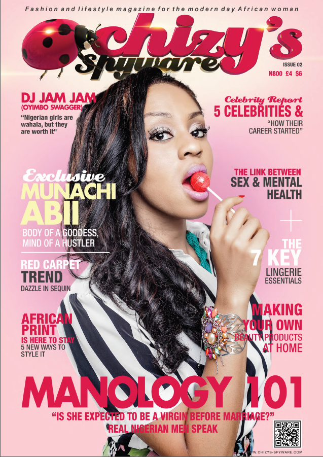 Munachi Abii Chizy's Spyware Magazine Cover and interview