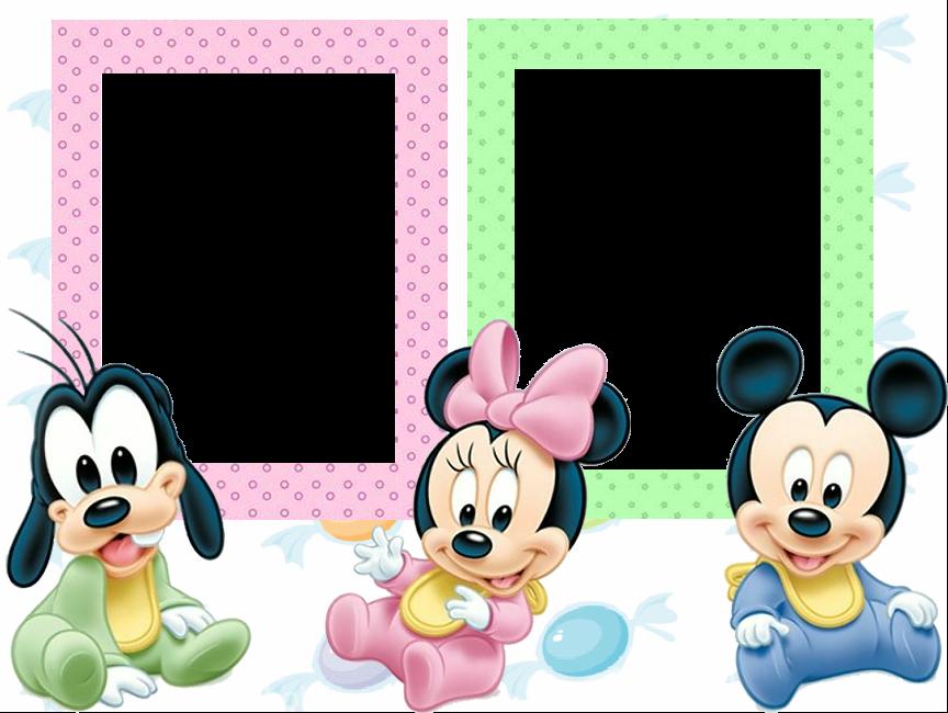 Fotos com arte TMV: Moldura- Baby Disney