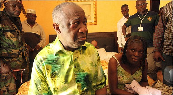 GBAGBO, DISGRACED AFRICAN LEADER NABBED INSIDE HIS SWEATY BUNKER!