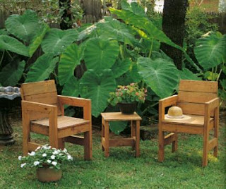 New Rustic Garden Furniture