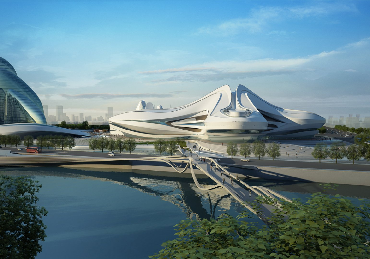 1000 images about zaha hadid on pinterest zaha hadid for Architecture organique
