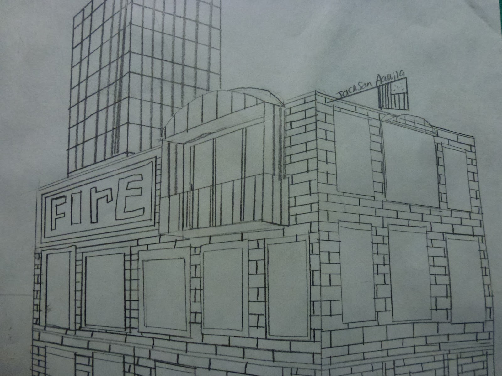 Shana S Art Room Cityscapes And Two Point Perspective