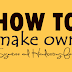 कैसे बनायें स्वयं के हस्ताक्षर व लिखावट वाले फ़ॉन्ट्स