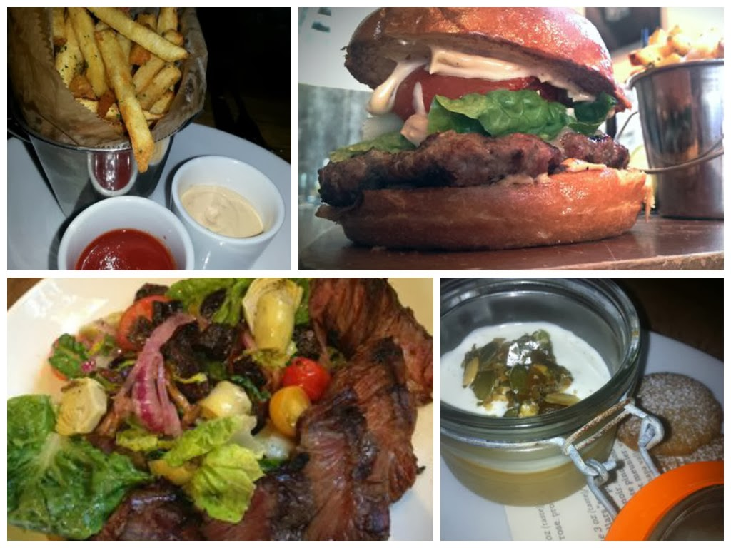 Juliette kitchen, burger, wine bars, places to eat in newport beach, Newport Beach, outdoor patio, outdoor seating, work lunch