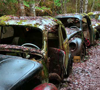 Escape From Abandoned Car…