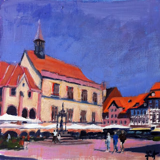 Old Townhall Goettingen by Liza Hirst