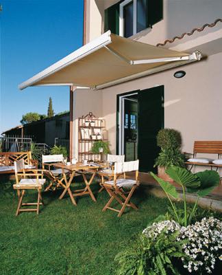 Muebles y decoraci n de interiores toldos y p rgolas para - Toldos para exteriores ...