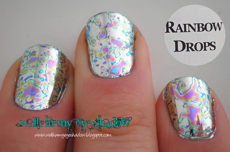 Beautiful Kami Nail Foil Adhesive Pattern - Nail Art Design Ideas ...