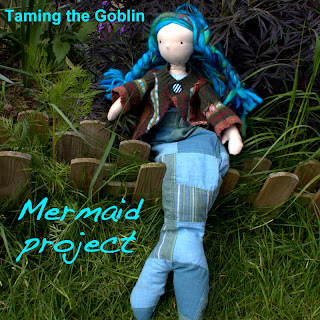 Mermaid Waldorf Doll