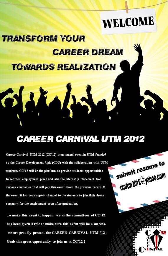 career carnival utm 2012  welcome to career carnival utm 2012