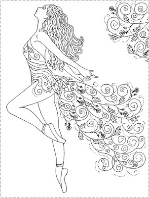 6 year old girls fashion coloring pages Coloring book for 6 year old