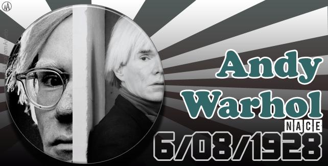6 de agosto de 1928 nace Andy Warhol, artista estadounidense
