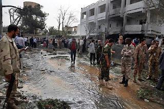 bom kereta di kedutaan perancis di libya