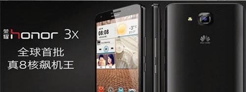 Huawei Honor 3X dual SIM coming soon in India