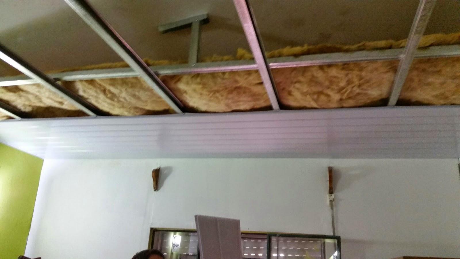 Cielorrasos en pvc uruguay aislamiento t rmico - Aislamiento termico techos interior ...