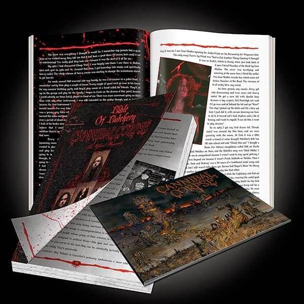 """CANNIBAL CORPSE Akan Merilis Buku Autobiografy """" Bible Of Butchery """" Bersamaan dengan Album Barunya """" A Skeletal Domain """" di bulan September 2014"""