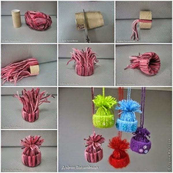 Ideas de adornos navide os crochet y dos agujas - Ideas adornos navidenos ...