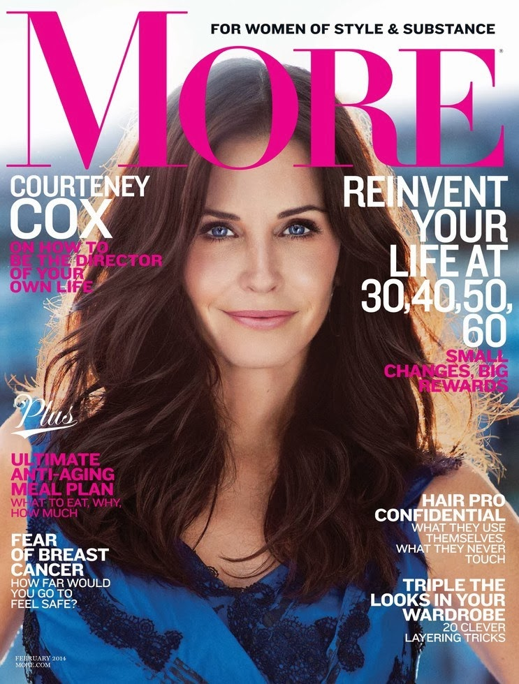 Courteney Cox More Magazine Photoshoot February 2014