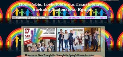 Homofobia, Lesbofobia eta Transfobiaren Nazioarteko Eguna, maiatzaren 17an.