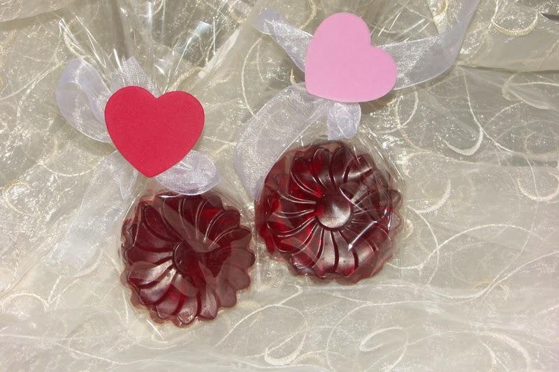 Walentynkowe mydełka