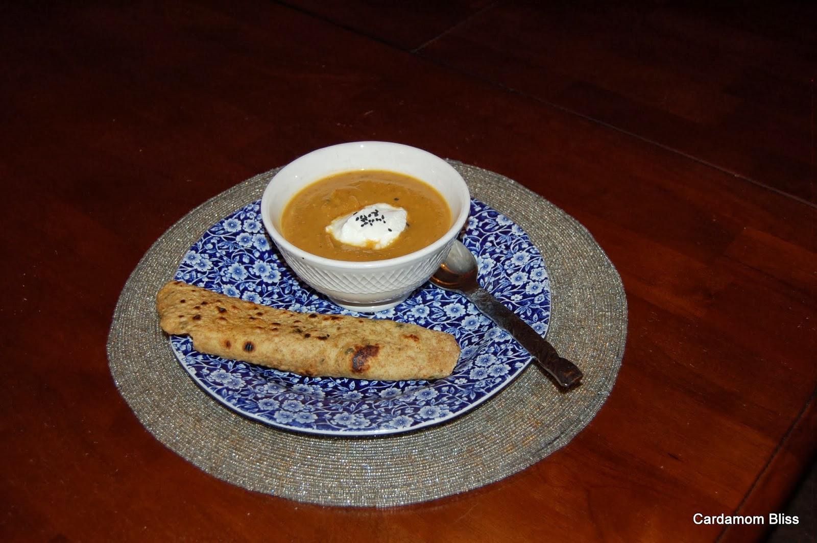 butternut masala soup