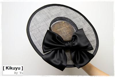 chapeau ceremonie noir