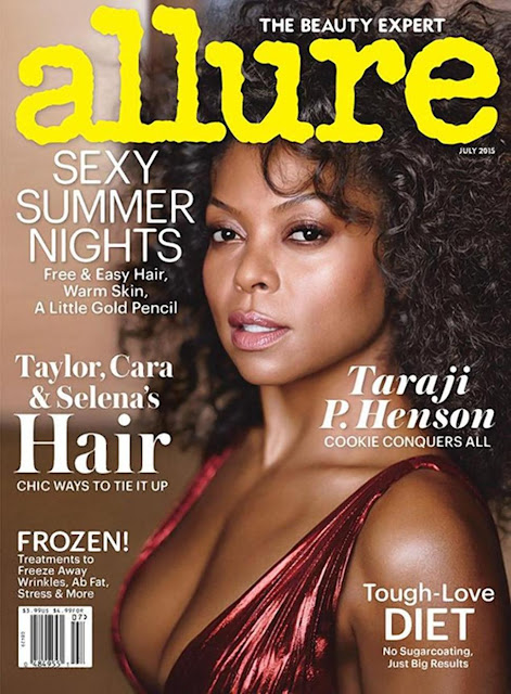 Singer, Actress @ Taraji P.Henson for Allure US, July 2015