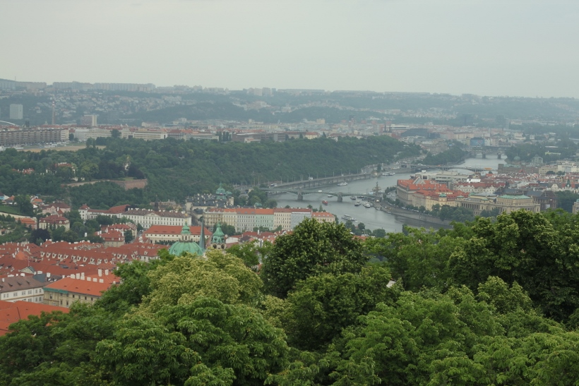Petrin tower view Prague