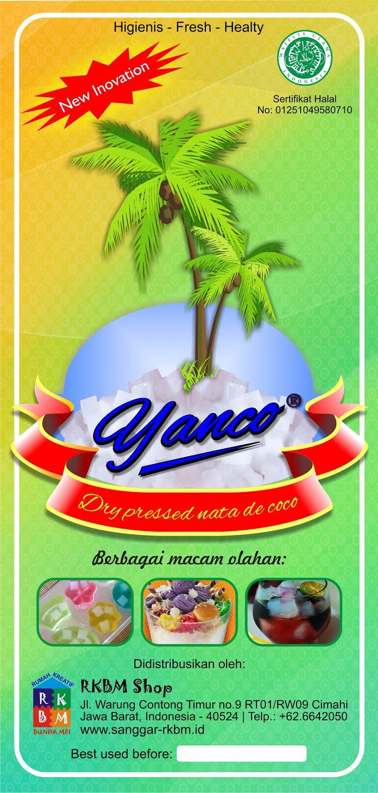 Panduan Mengolah Yanco Nata de Coco