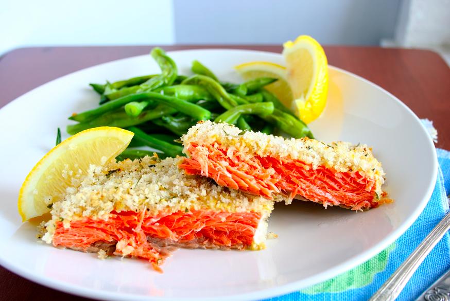 Mama Grubbs Grub: Panko-Crusted Salmon