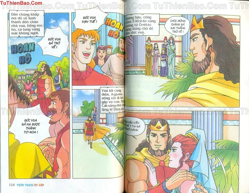 Thần thoại Hy Lạp Chapter 14 - Trang 56