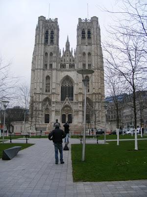 Catedrala Saints-Michel-et-Gudule, Bruxelles, Belgia