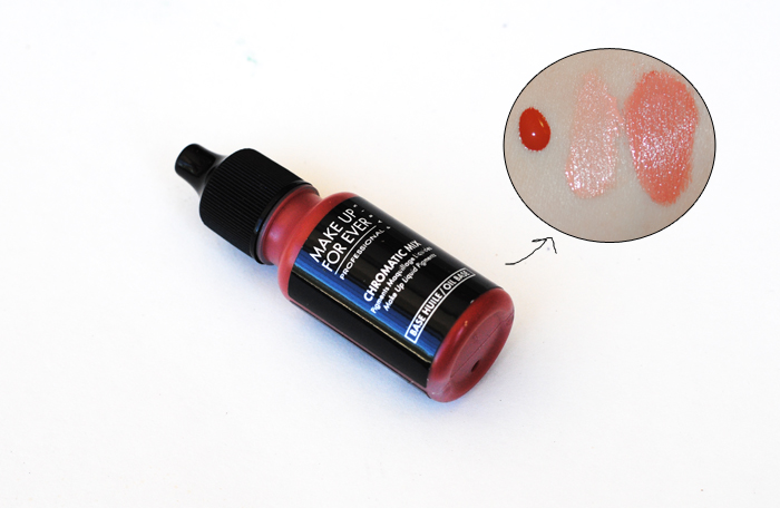Make Up For Ever Chromatic Mix, shade adjustor for makeup, foundation adjustor, makeup color theory