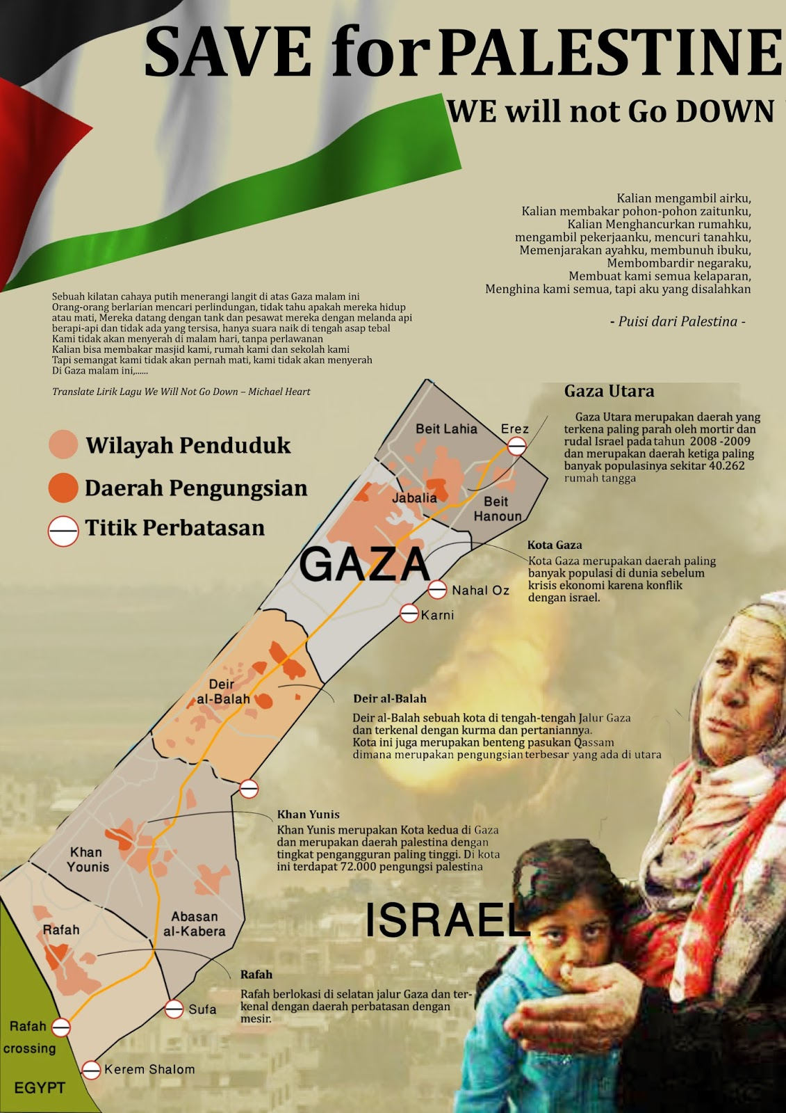 Poster Save for Palestine