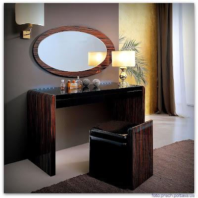 Туалеьный столик для спальни модели Polar dressing table от фабрики Serenissima.
