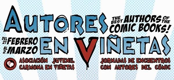 Carmona en Viñetas presenta: Autores en Viñetas 2014