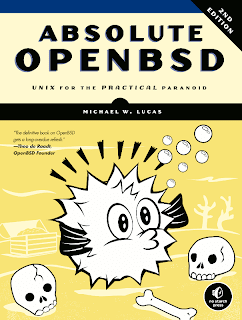 Book review &#8211; Absolute OpenBSD 2nd Edition