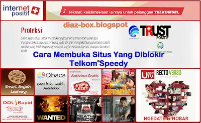 Cara Membuka Situs Yang Diblokir Telkom Speedy