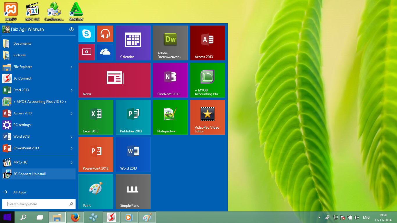 cara memperbesar ukuran start menu windows 10