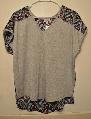 Pixley Indianan Graphic Print Mixed Material Tee