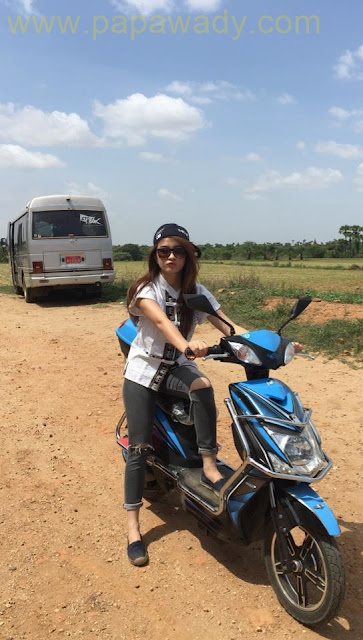 "Behind The Scenes : Wutt Mhone Shwe Yi Starring in ""Kyun"" Movie"