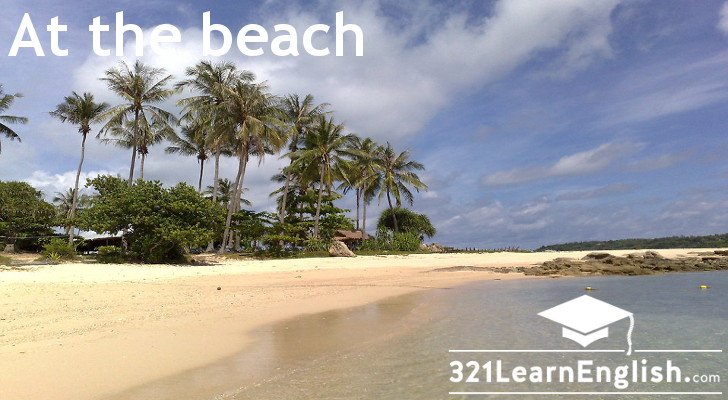 Vocabulary: At the beach (Level: A2)