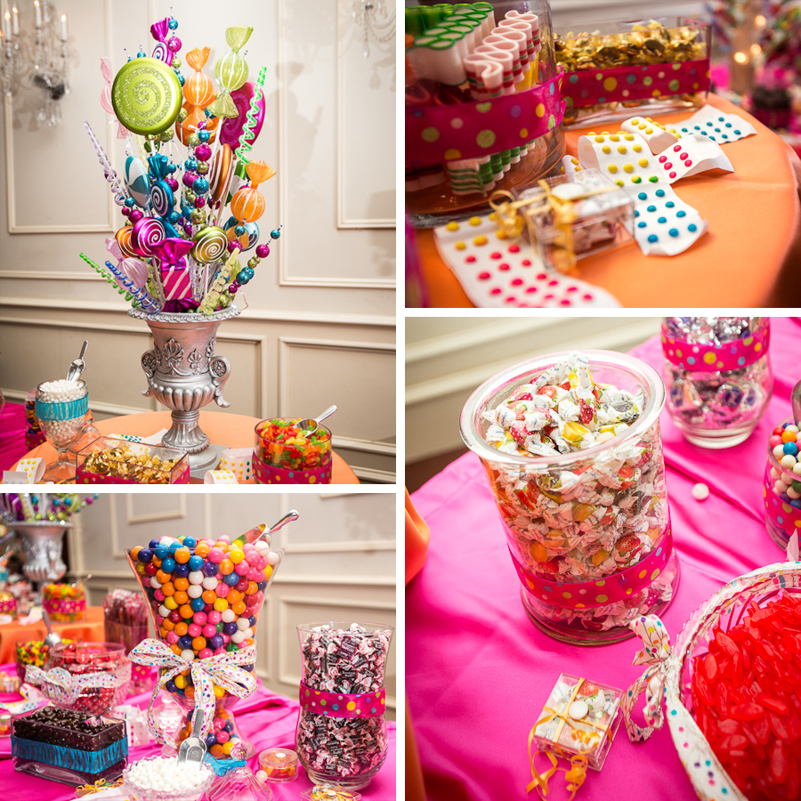 Wedding reception candy bar ideas for Candy bar for weddings receptions