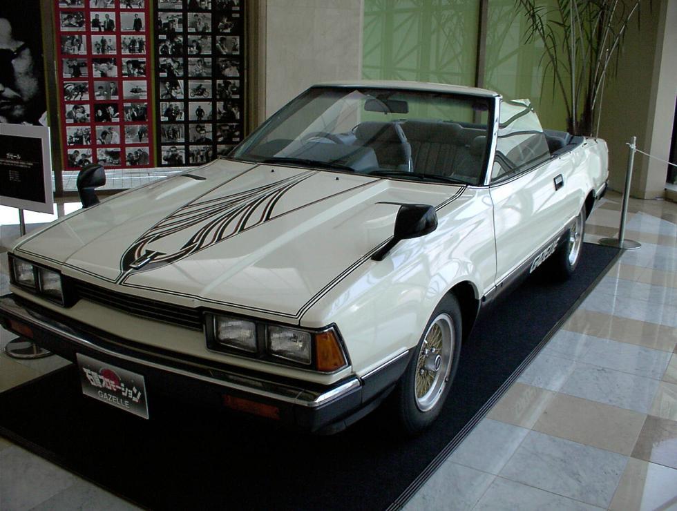 Nissan Silvia, Gazelle, 200SX, S110, JDM, japoński sportowy samochód, zdjęcia, fotki, 日本車, スポーツカー, 日産, シルビア, ガゼール, cabrio, convertible