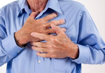 chest pain symptom