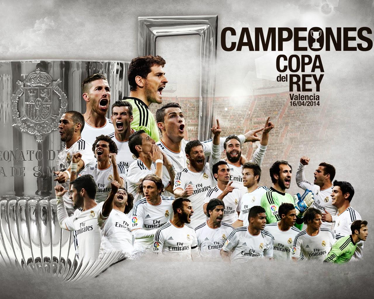 Real Madrid Campeón de la Copa del Rey 2013/2014 - Vídeo Homenaje - The Glow