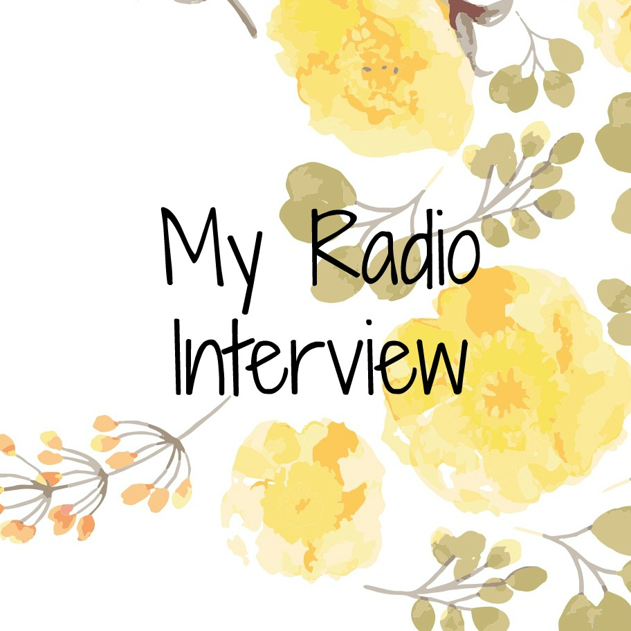 My Radio Interview