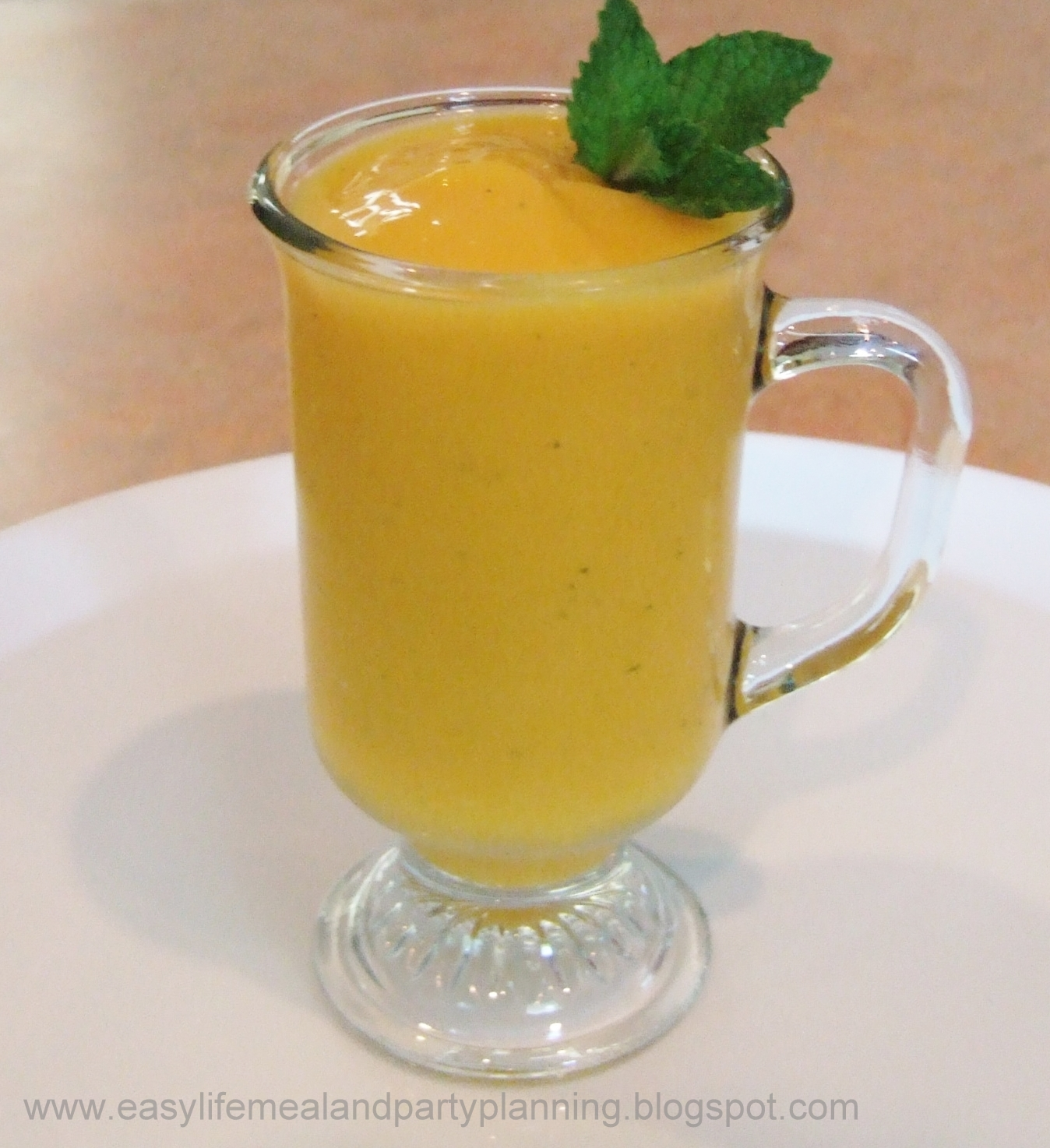 Mango Smoothie or Mango Cocktail by Easy Life Meal & Party Planning ...
